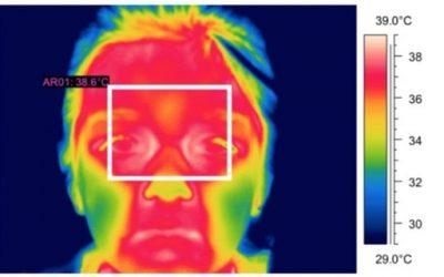 Detección de fiebre a través de imágenes térmicas infrarrojas